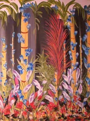 Whimsical  Bamboo Art Print