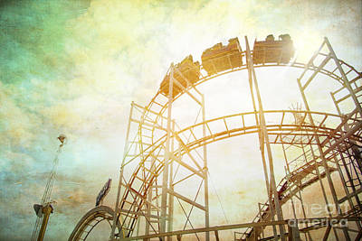 Whimsy Photograph - Whimsy Ride by Violet Gray