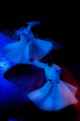 Reflexion Photograph - Whirling Dervish - 3 by Okan YILMAZ