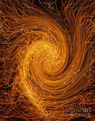 Photograph - Whirlpool Of Fire by Peter Piatt
