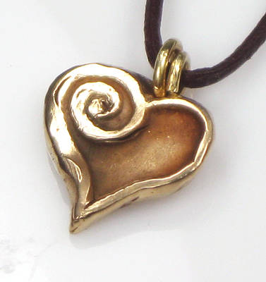 Jewelry - Whirlwind Love Pendant by Vagabond Folk Art - Virginia Vivier