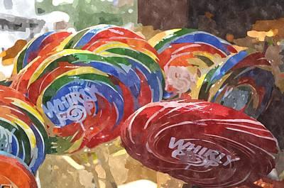 Digital Art - Whirly Pop WPWC by Jim Brage