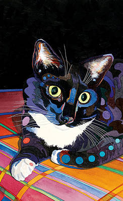 Whiskers Print by Bob Coonts