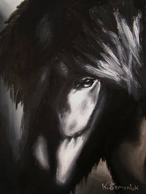Whisper Painting - Whispers In The Dark by Kayleigh Semeniuk