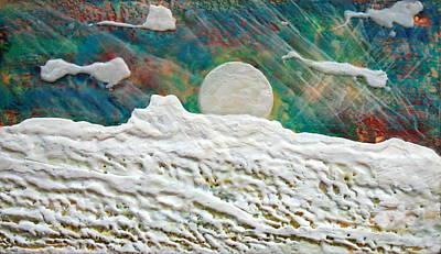 Whistler Moon Art Print by Terry Thomas
