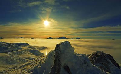 Whistler Digital Art - Whistler Peak by James Ingham