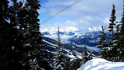 Snow Photograph - Whistler View  2 by Tanya  Searcy