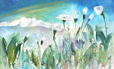 Painting - White Beauties In Crete by Miki De Goodaboom