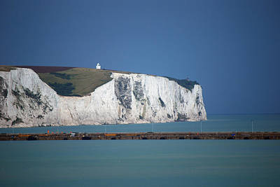 Photograph - White Cliffs Of Dover by Harvey Barrison
