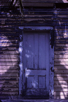 Photograph - White Door by Bob Whitt