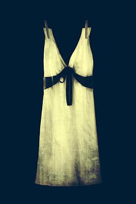 White Dress Art Print
