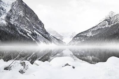Photograph - White Fog Louise by Andrea Hazel Ihlefeld
