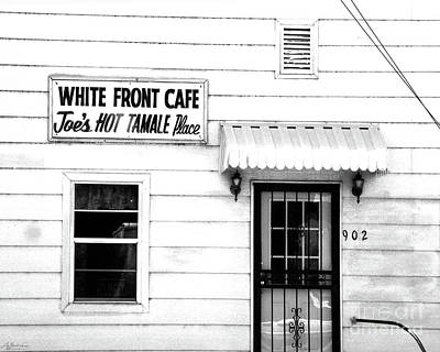 Photograph - White Front Cafe Rosedale Ms by Lizi Beard-Ward