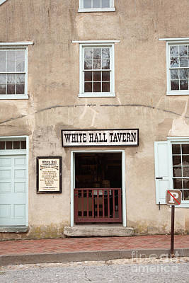 White Hall Tavern Art Print by Ei Katsumata