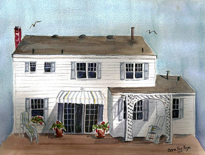 Painting - White House by Clara Sue Beym
