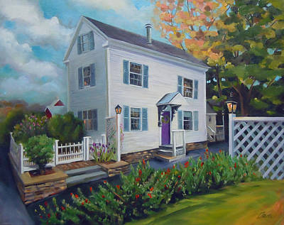 Painting - White House by Nancy Griswold