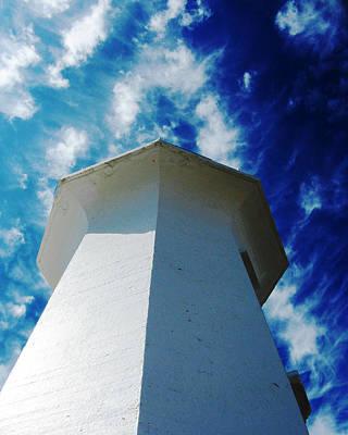 Photograph - White Light Blue Sky by Patricia Januszkiewicz