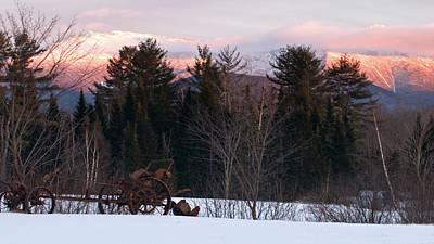 Photograph - White Mountain Farmland by Paul Mangold