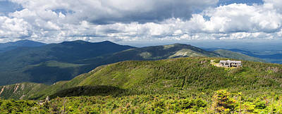 White Mountains New Hampshire Panorama Art Print by Stephanie McDowell