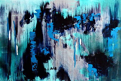Painting - White Noise by Eric Chapman