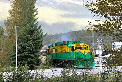 Photograph - White Pass Train Number 2 by Pamela Walrath