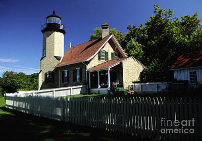 Photograph - White River Light by Ronald Grogan