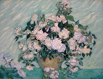 Rose Painting - White Roses by Sumit Mehndiratta