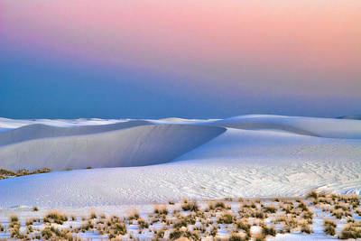 Photograph - White Sands 7 by Lou  Novick