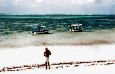 Mombasa Photograph - White Sands Of Mombasa by Gwyn Newcombe