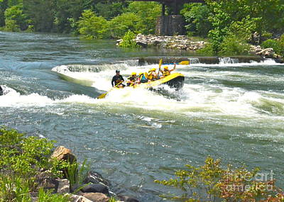 Photograph - White Water Rafting On The Ocoee by Carol  Bradley