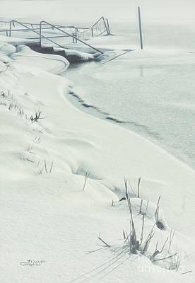 Photograph - White World by Jutta Maria Pusl