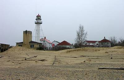 Whitefish Point Light Station Art Print