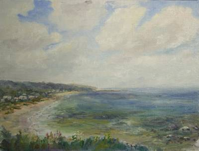 Whitehorse Beach Sunlight Art Print