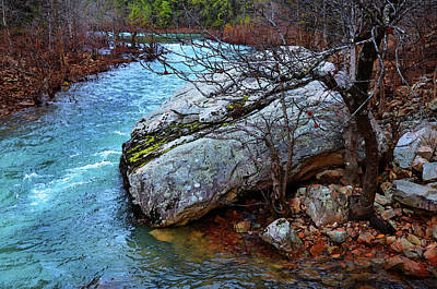 Art Print featuring the photograph White's Creek by Paul Mashburn