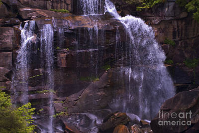 Photograph - Whitewater Falls Section by Paul W Faust -  Impressions of Light