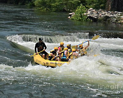 Photograph - Whitewater Fun by Carol  Bradley