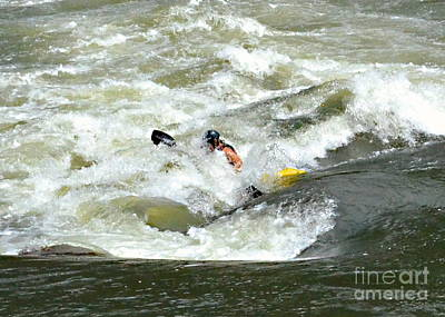 Photograph - Whitewater Kayaking by Carol  Bradley