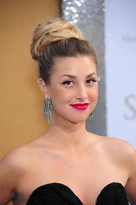 Hair Bun Photograph - Whitney Port At Arrivals For Sex And by Everett