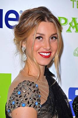 Whitney Port At Arrivals For Vh1 Divas Art Print