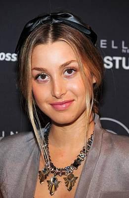 Statement Necklace Photograph - Whitney Port In Attendance For Gen Arts by Everett