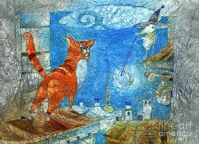 Who Lights The Stars Art Print by Svetlana and Sabir Gadghievs