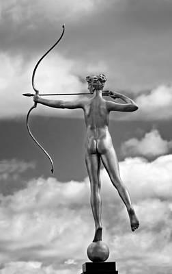 Oak Photograph - Who Needs Cupid 2 Monochrome by Steve Harrington
