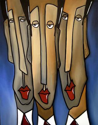 Who's The Boss Art Print by Tom Fedro - Fidostudio
