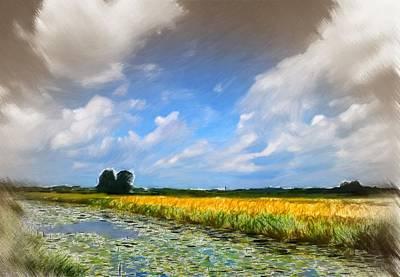 Open Range Pastel - Wide Country by Steve K