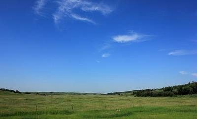 Wide Open Alberta Prairies Art Print by Jim Sauchyn