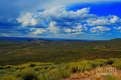 Photograph - Wide Open Wyoming Sky by Donna Greene