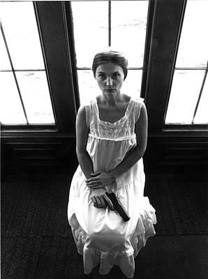 Photograph - Widow by Richard Watherwax