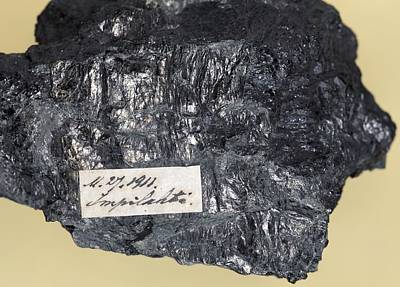 Wiikite Mineral Art Print by Dirk Wiersma