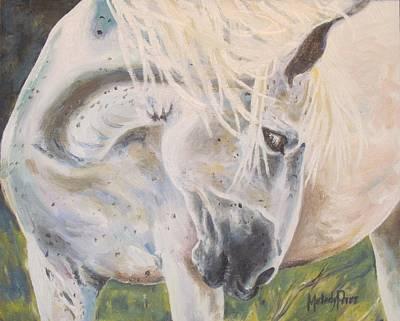 Melody Perez Painting - Wild Blush by Melody Perez