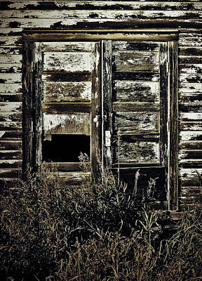 Old Barn Drawing Photograph - Wild Doors by Jerry Cordeiro